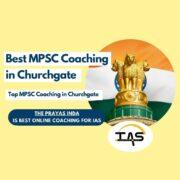 Top MPSC Coaching Centers in Churchgate